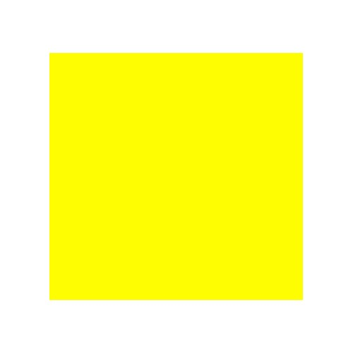 Pintura Acrílico amarillo limón