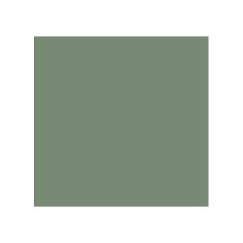 Acrylic paint green leaf dry