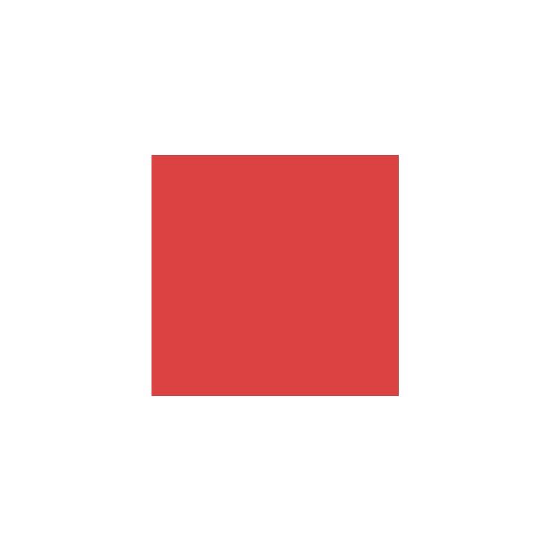 Acrílico rojo primario