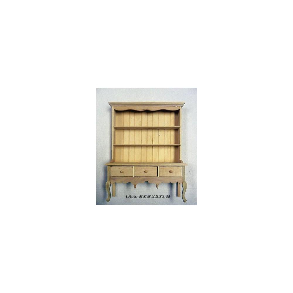 Comprar alacena casita de mu ecas de madera - Alacena de madera ...