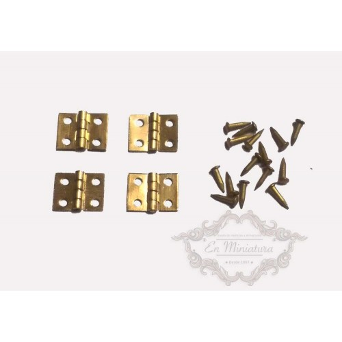 Mini hinges 8mm x 10mm