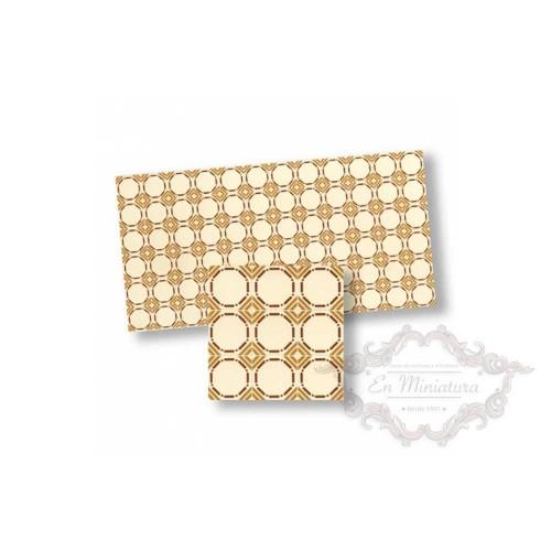 Mosaico tonos marrones 34113