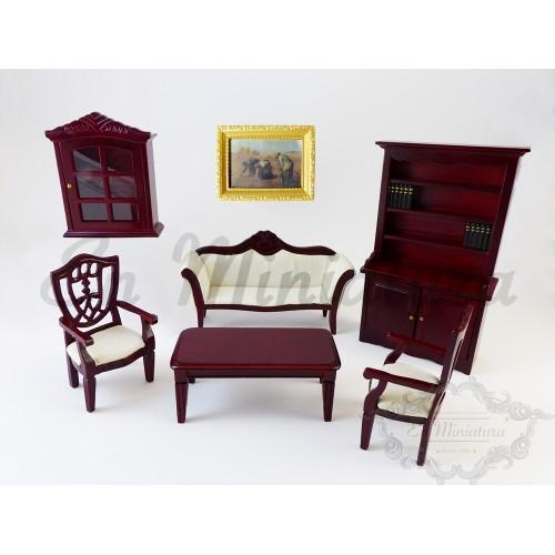 Conjunto Salón Caoba