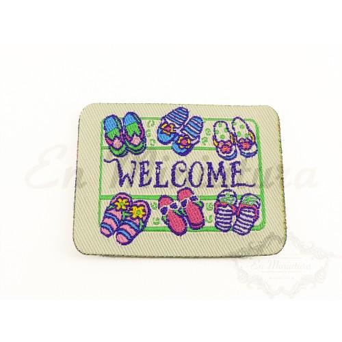 Felpudo Welcome