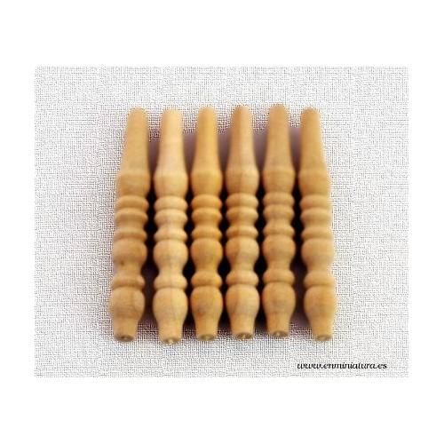 Balaustres torneados pequeños