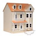 Exmouth Dollhouse, Cream Color