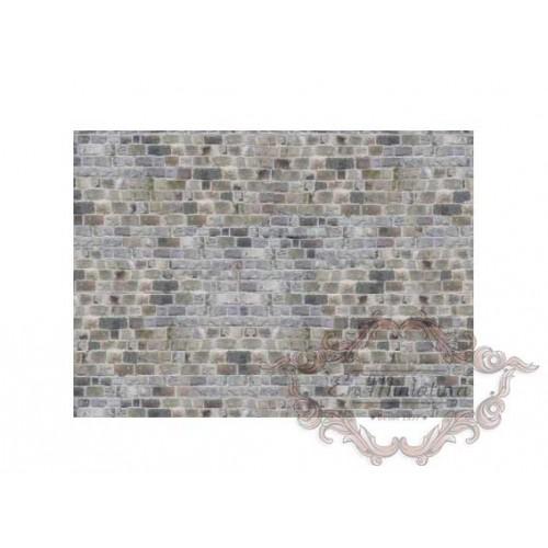 Papel imitación muro de piedra