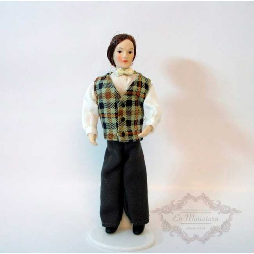 Man Porcelain doll
