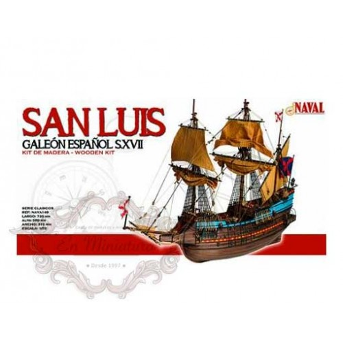 San Luis, Galeón Español S.XVII