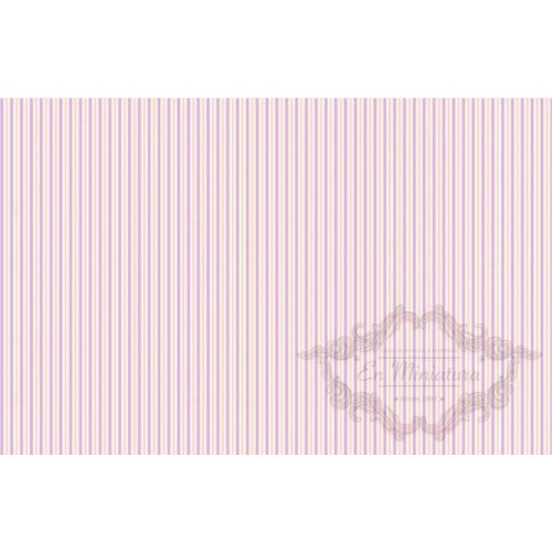 Pink striped paper