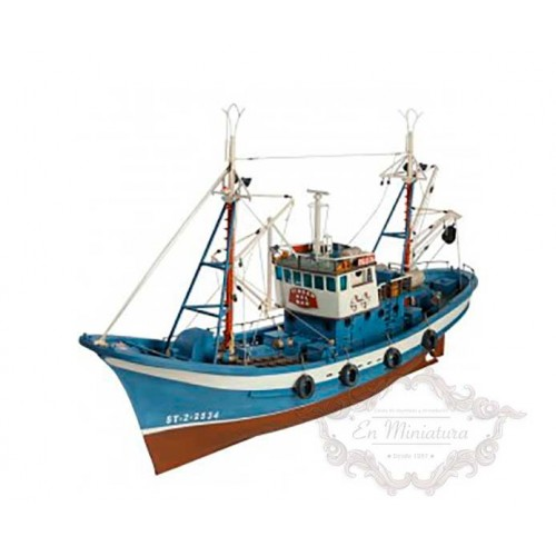 Maqueta barco Atunero del Cantábrico para construir