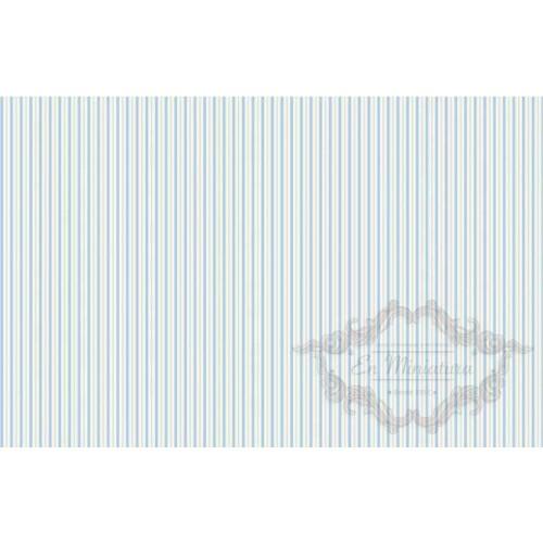 Blue Striped Paper