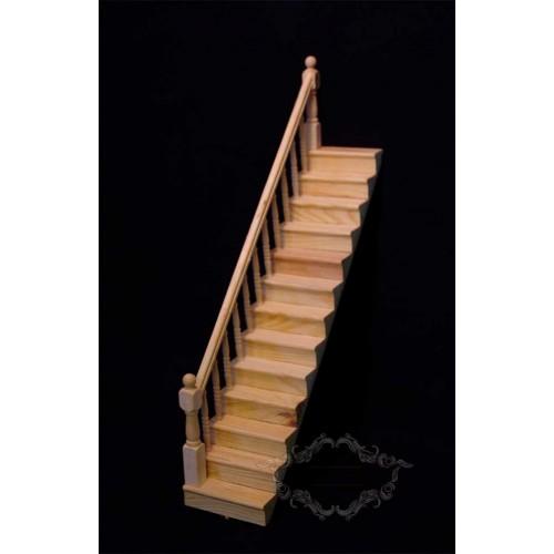 Tramo escalera lado izquierdo