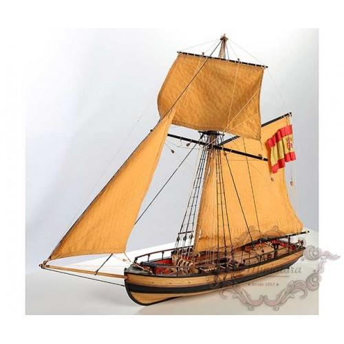Maqueta de barco, Atrevida-Lancha cañonera