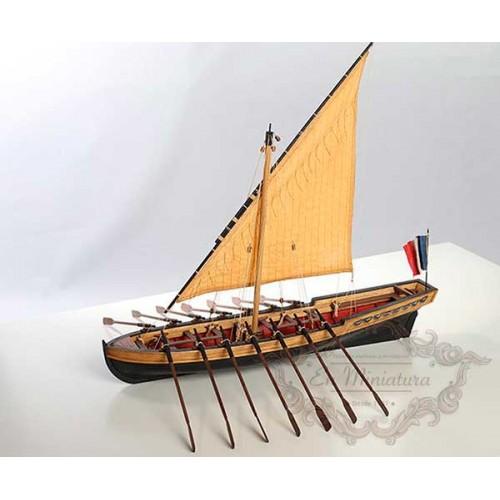 Maqueta de barco, Le Bucentaure ( Capitán Villeneuve )