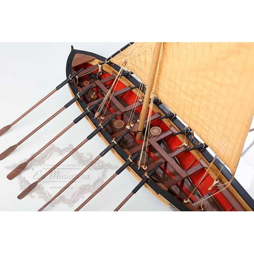 Boat model, Le Bucentaure (Captain Villeneuve)