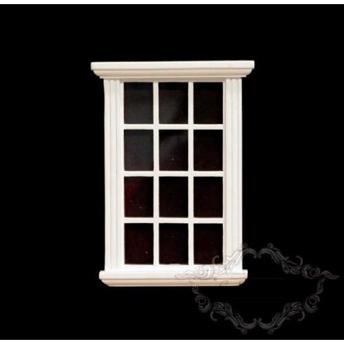 White window, white squares.