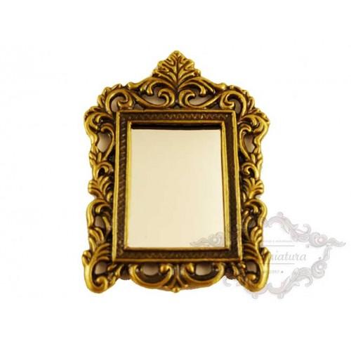 Espejo de bronce para colgar