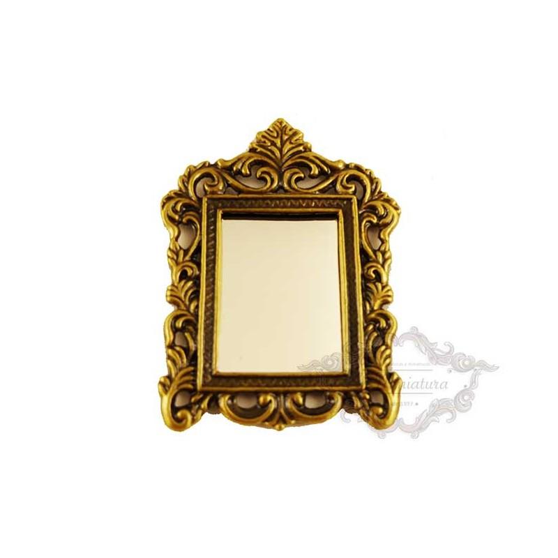 Bronze mirror to hang
