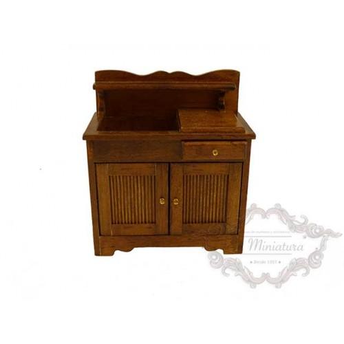Mueble rústico de cocina