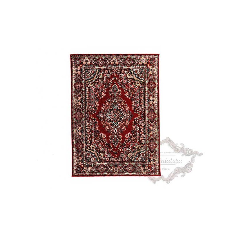 Large carpet in red