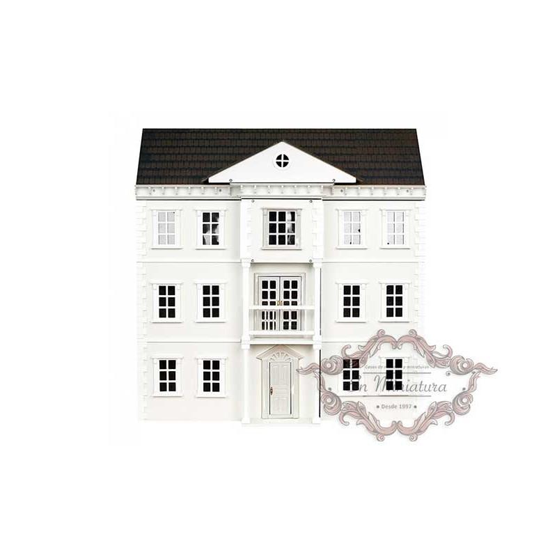 Casa de muñecas The Mayfair, casita de muñecas estilo inglés de gran ...