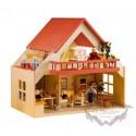 Casa de muñecas de Madera, Balcón Roja