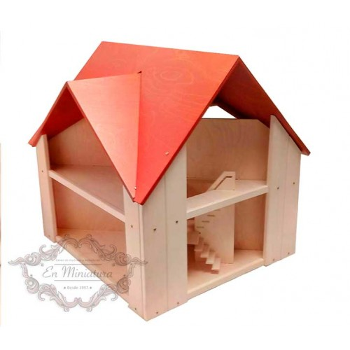Wooden doll house, Mansion