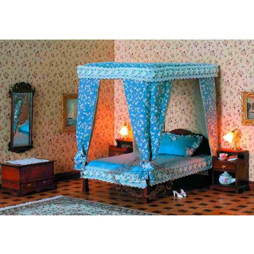 Cama Dosel Chippendale