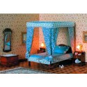 Canopy Bed Chippendale