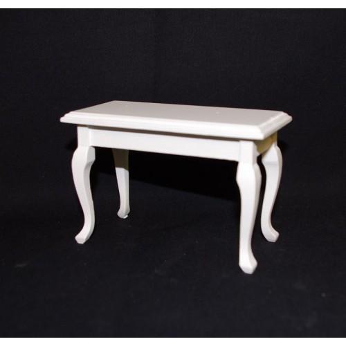 Mesa lacada blanca