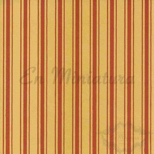 Wallpaper Stripes Corn-Yellow Background