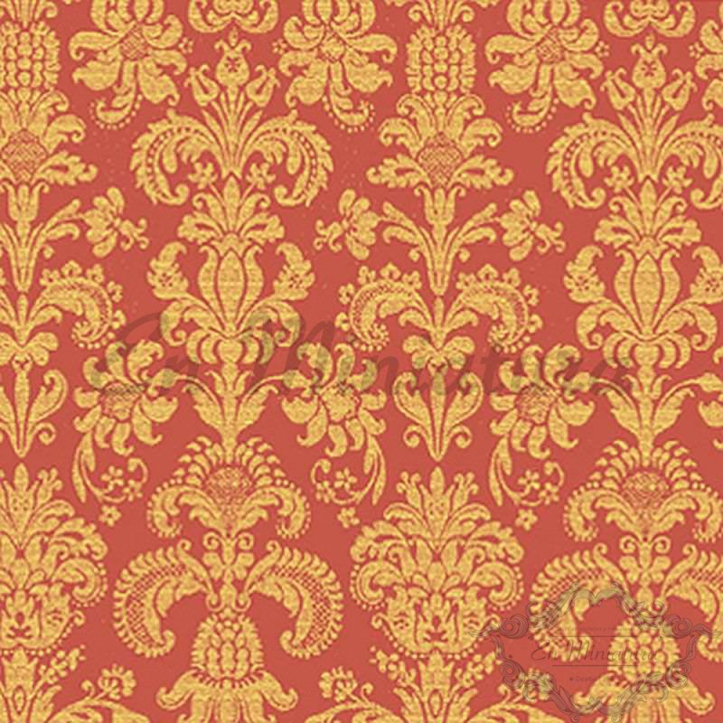 Damask Wallpaper floral-pattern