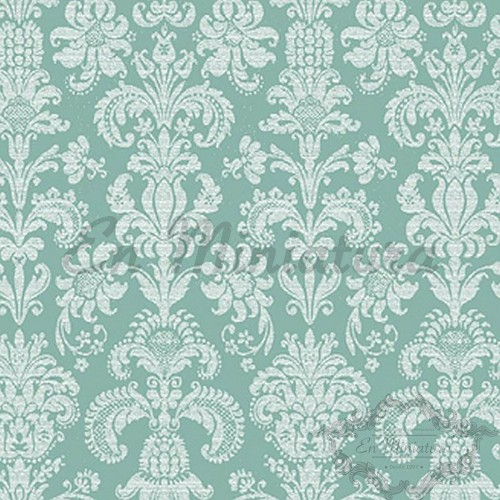 Damask Wallpaper floral, lime green Pattern