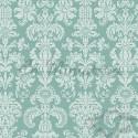 Damask Wallpaper floral, lime green Pattern