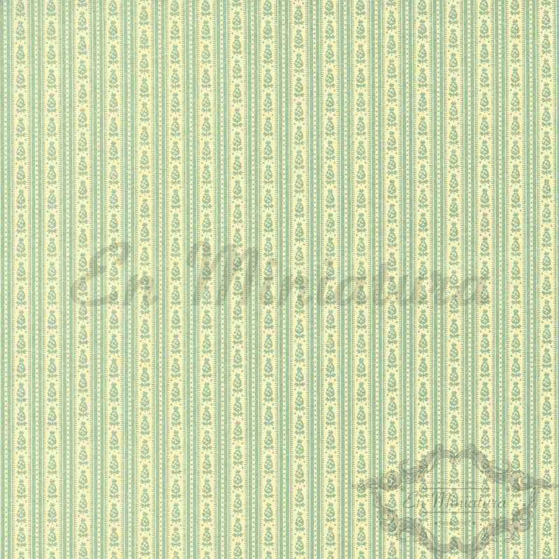 Striped Wallpaper Lime Green