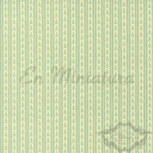 Striped Wallpaper Lime-Green