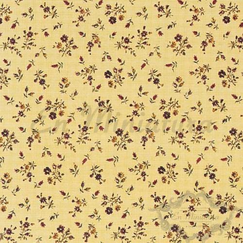 Scattered Flower Wallpaper