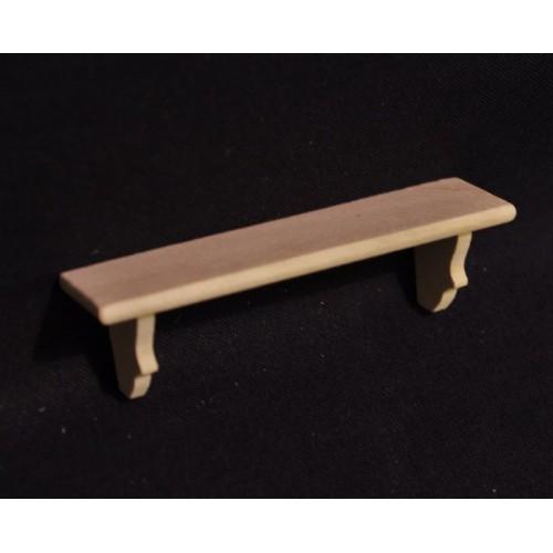 Repisa en madera natural