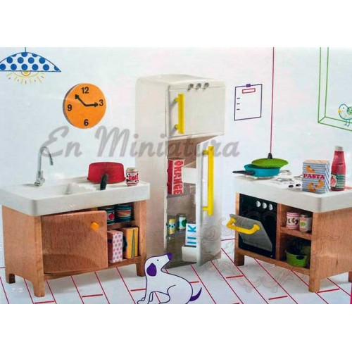 Muebles de cocina Infantil en madera