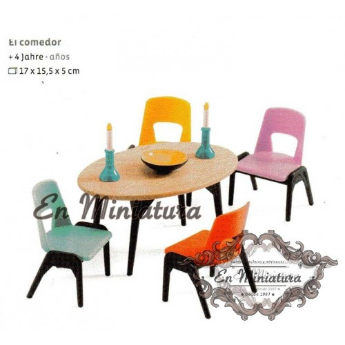 Furniture set, dining room