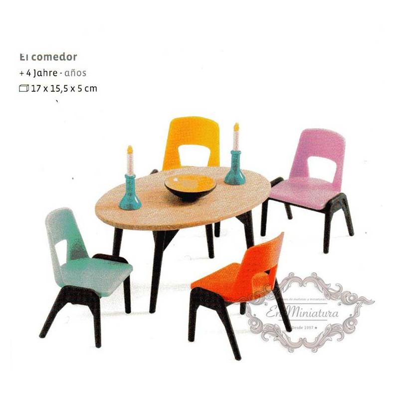 Comprar muebles para casas de muñecas de niñas y niños