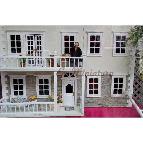 Revestimiento fachadas en miniatura, Sillar