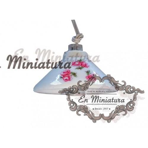 Ceiling lamp, porcelain Reutter