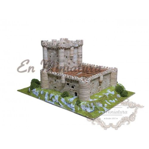 Castillo de Fuensaldaña, Maqueta