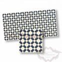 Mosaico azul y blanco 34107