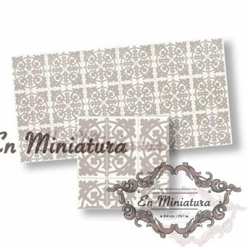 Gray mosaic 34111