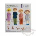 Family children's dolls