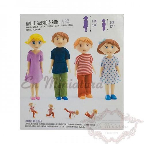 Familia muñecos infantiles