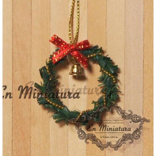 Christmas door ornament, Corona
